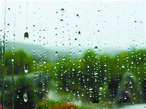 雨珠似晶亮的银线