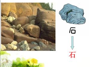 """""""石""""字的演变过程"""