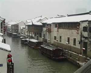 江南的冬景