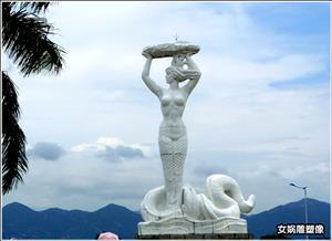 女娲雕塑像