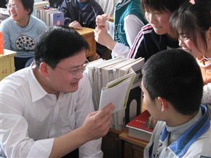 教师是学习的参与者