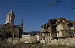 废弃的村庄