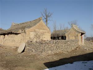 冬天的村庄