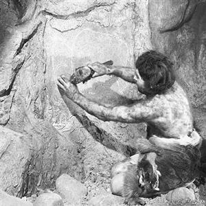 山顶洞人的生活状态