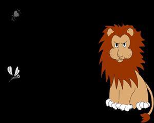 《蚊子和狮子》插图2