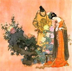 杨贵妃和唐玄宗