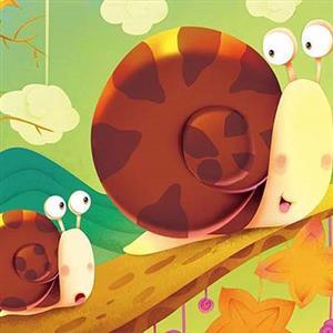 《小蜗牛》课文朗读