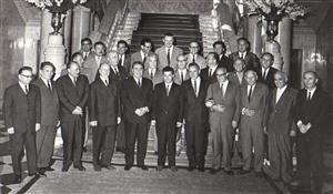 1966年,华约组织各国领导人在布加勒斯特峰会期间的合影