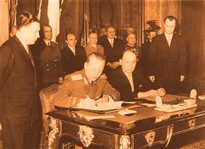 捷克斯洛伐克代表在《华沙条约》上签字