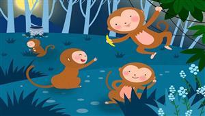 猴子捞月亮3