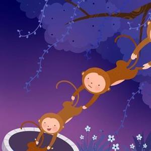 猴子捞月亮2