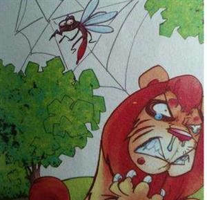 《蚊子和狮子》课文朗读1