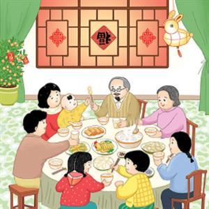 《春节童谣》课文朗读